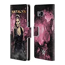 Official WWE LED Image Natalya Leather Book Wallet Case Cover For Samsung Galaxy Note 4