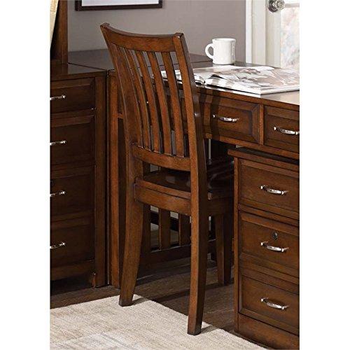 (Liberty Furniture INDUSTRIES 718-HO195 Hampton Bay Home Office School House Chair, Cherry)