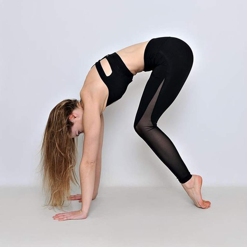 Kinlene Pantalones de Yoga para Ejercicios de Levantamiento ...