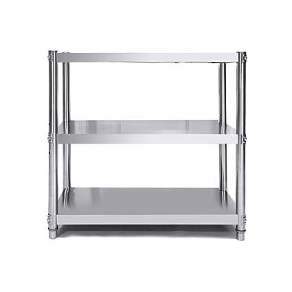 Amazon.com: YAN JUNau Multi-Layer Stainless Steel Frame ...