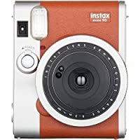 FUJIFILM 16423917 Instax(R) Mini 90 Classic Instant Camera (Brown)
