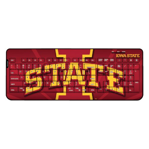 Iowa State University Wired USB Keyboard NCAA by Keyscaper