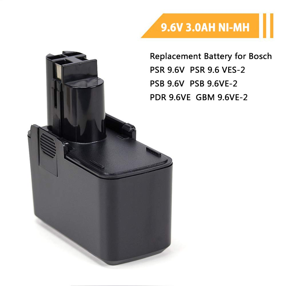 Power Tool Accessories Powery Charger for battery Bosch drilling nut runner GSR 9.6VPE-2 7,2V-24V