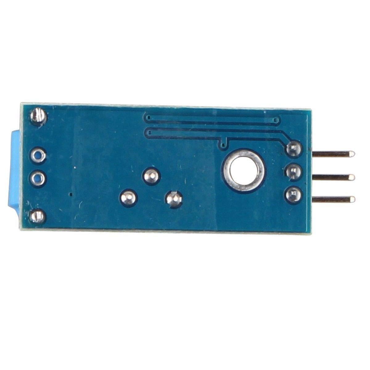 práctico SW-420 tipo normalmente cerrado del módulo del sensor de vibración Sensor de vibración del módulo de alarma del sensor de movimiento del módulo de ...