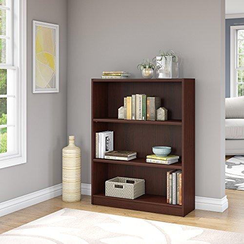 Bush Furniture Universal 3 Shelf Bookcase in Vogue Cherry