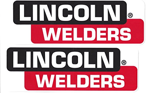 (Lincoln Welders Racing Decals Stickers 8 Inches Long Size Set of 2)