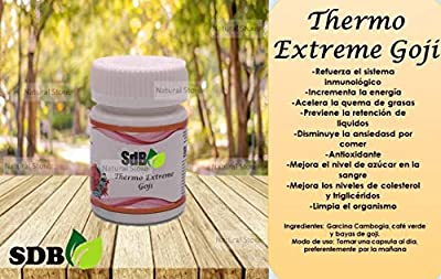 "Semilla De Brazil""Thermo Extreme Goji"" Excellent Weight Loss Supplement!"