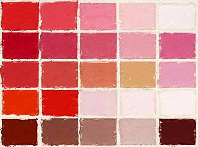 Mount Vision Pastel Company 25-Piece Reds and Pink Set
