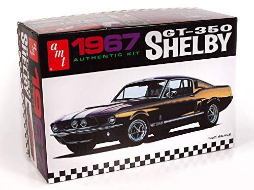 AMT 1967 Shelby GT-350 1:25 Scale Model Kit 1