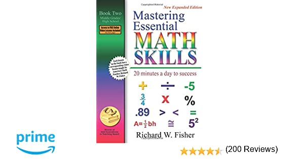 Mastering Essential Math Skills: 20 Minutes a Day to Success, Book ...