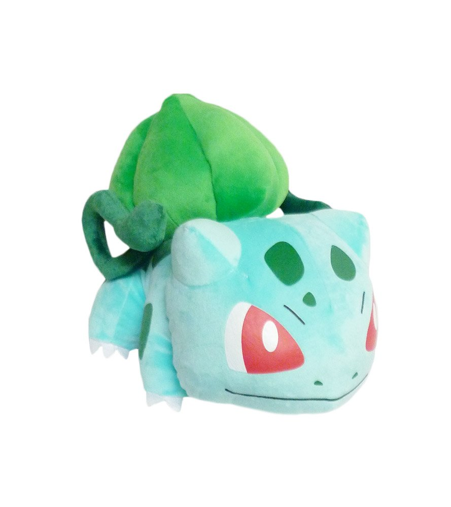 amazon com pokemon 12 inch vine whip bulbasaur plush toys games