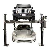 - Dannmar 4-Post Auto Lift - 7000-Lb. Capacity, 70 1/2in. Max Rise, Model# Commander 7000