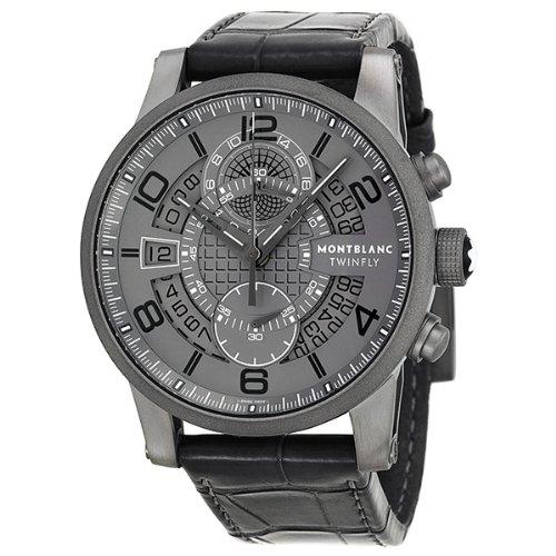 5a8588a9451 Amazon.com: Montblanc Timewalker TMW Titanium Flyback Mens Watch 107338:  Montblanc: Watches