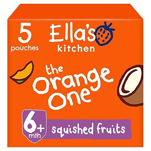 Ella's Kitchen The Orange One 5 x 90g Ellas Kitchen