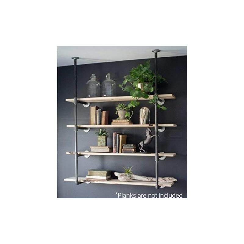 Industrial Retro Wall Mount Iron Pipe Sh