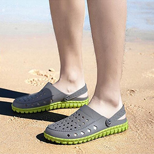 Outdoor da Casual Beach Gray Uomo Shoes ZHONGST Estivi Cave Sandali Slippers q0xE8aY