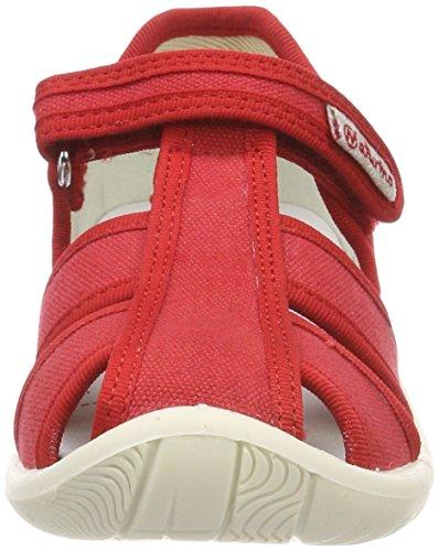 Naturino 7785 - Sandalias Niñas Rojo (Rosso)