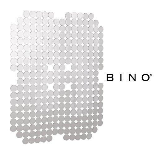 BINO 'Circles' Anti-Bacterial Kitchen Sink Protector Mat, Cl