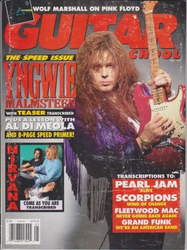 (Guitar School Magazine (May 1992) (The Speed Issue - Yngwie)