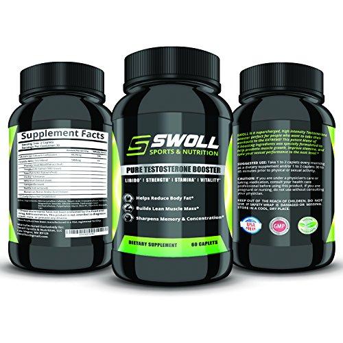 Testostérone pour les hommes - éprouvée pour stimuler l'énergie et Drive - 100% naturel pilules supplément Formule pour la croissance musculaire et la perte de graisse