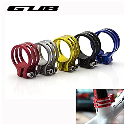 Gub MaoFa Bike SeatPost Seat Post Clamp Tube Clip Quick Release Aluminium Alloy MTB Seatpost Clamp Mountain Road Bike Parts 34.9mm 31.8mm