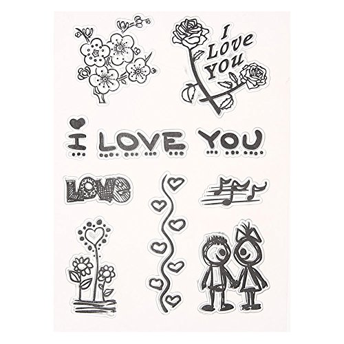 Clear Stamps - Handwork Children Adults Cute Transparent Clear Silicone Stamp Seal Photo Album Decorative - Autumn Sentiments Spanish Alphabet Hero Diy On Lighthouse Monsters From