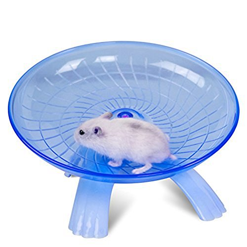 Silent Spinner Non Slip Run Disc for Hamsters Hedgehogs Small Pets Exercise Wheel 51tXQSAOlhL