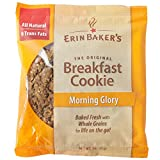 Erin Baker's Breakfast Cookies, Morning Glory, Carrot Cake, Whole Grain, Vegan, Non-GMO, 3-ounce (Pack of 12)