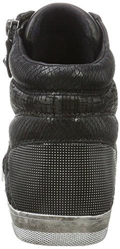 Gabor Dames Comfortabele Basic Derby, Black Black (zwarte 57 (micro))