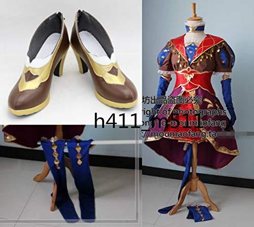 コスプレ衣装+靴 FateGO Fate FGO/Grand Order FateGO コスプレ衣装+靴 FGO レオナルドダヴィンチ B07KFCCM1R, コクブンジマチ:737d9355 --- ferraridentalclinic.com.lb