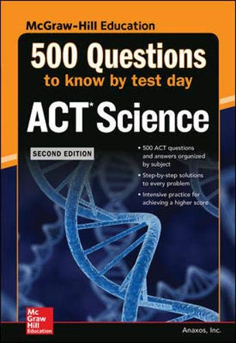 500 ACT Science Questions to Know by Test