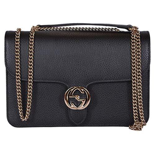 Jual Gucci Bree Guccissima Black Crossbody Leather Bag New - Cross ... bb9f3c50fe