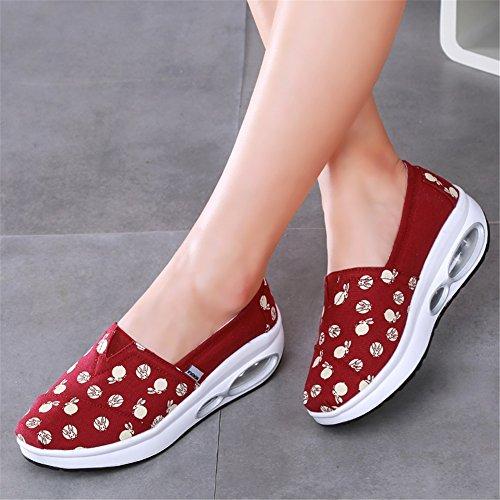 Shoes Fitness Flat guida Guida Shaking Da Maglie Slip Sneakers Platform Athletic Donna E Autunno Un Casual Loafers Antiscivolo Sh Scarpe Mocassini Primavera Shake gS7vqwxw