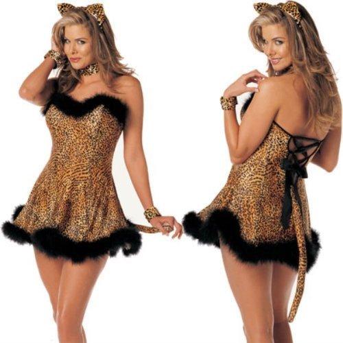 Lusty Leopard Adult Costume - Medium/Large