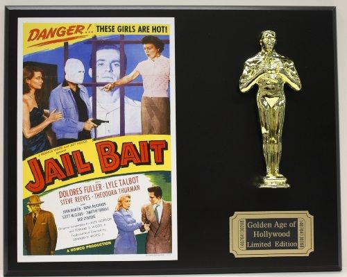 Jail Bait An Ed Wood Very Campy Film LTD Edition Oscar Movie Poster ()