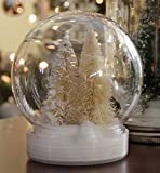 5 Inch (130mm) DIY Snow Globe Water Globe, Clear