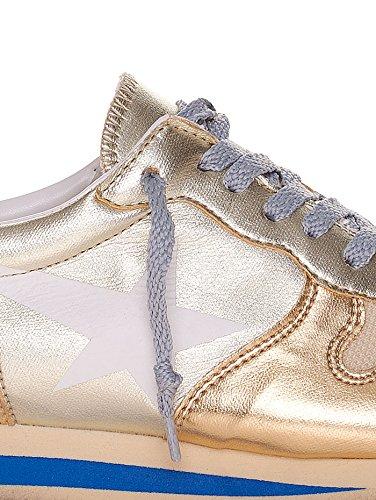 E Goose Pelle Sneakers Haus Tessuto Golden Tecnico Oro qTwPAIwp