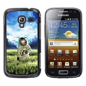 Be Good Phone Accessory // Dura Cáscara cubierta Protectora Caso Carcasa Funda de Protección para Samsung Galaxy Ace 2 I8160 Ace II X S7560M // Astronaut Cosmonaut Spacesuit Alien Pl