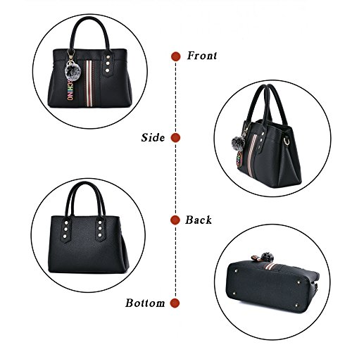LoZoDo Womens Purses and Handbags Shoulder Bags Satchel Messenger Ladies Designer Tote Bag by LoZoDo (Image #3)