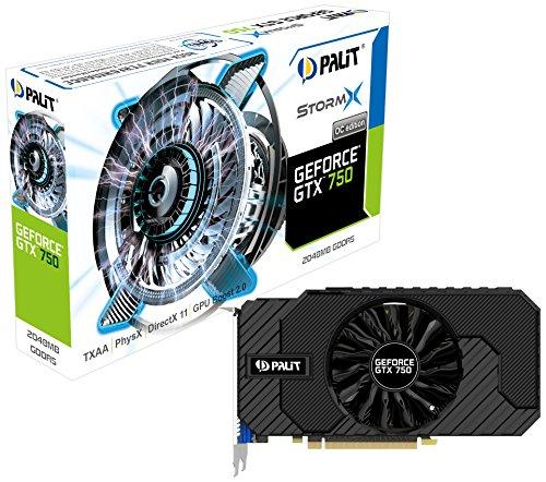 Palit NE5X750THD41F GTX750 Graphic Card NVIDIA (PCI-e 2048MB GDDR5, VGA/DVI/mHDMI, 1x GPU)