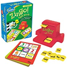 ThinkFun Zingo Sight Words Early Reading Game - Toy of the Year Finalist, A Fun and Educational Learn to Read Game Developed by Educators for Pre-K to 2nd Graders