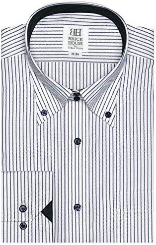 ブリックハウス ワイシャツ 長袖 形態安定 ボットーニ ボタンダウン スリム メンズ BM010101AK11V1A-14