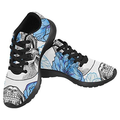InterestPrint Womens Jogging Running Sneaker Lightweight Go Easy Walking Casual Comfort Running Shoes Multi 25 Vc24D6Z
