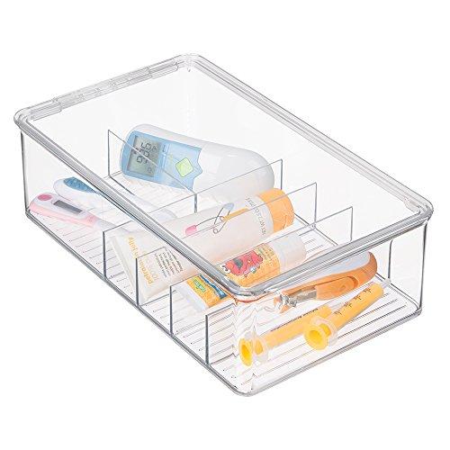 mDesign Nursery Organizer Thermometers Aspirators