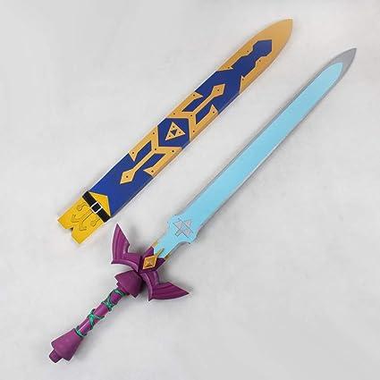 Amazon Com Aition 43 The Legend Of Zelda Skyward Sword Master Sword Cosplay Prop 0294 Toys Games