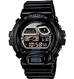 Casio G Shock Digital Dial Black Resin Mens Watch GB-6900AA-A1ER