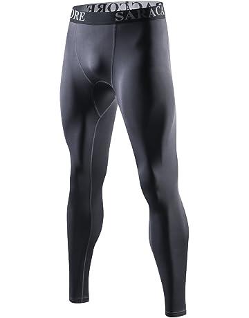 saracacore Pantalon de Compression Fitness Legging Rashguard Homme Sport  Court Musculation Baselayer.  3 0298862beb1