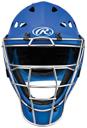 Rawlings Youth Catchers Helmet, Matte Royal by Rawlings