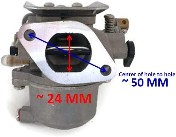 13/67d-14301 Bateau Moteur glucides Carburateur Assy 67d-14301 11/pour Yamaha 4/temps 4HP 5HP Moteur hors-bord Moteur