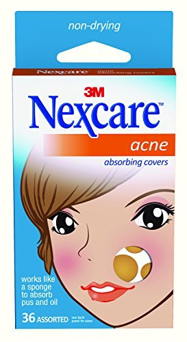 Nexcare Acne Cover, Hydrocolloid Technology, Invisible, 36 count (Treatment For Acne Scars On Face At Home)